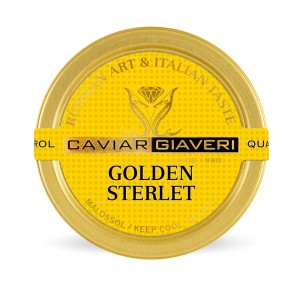 Caviale Golden Sterlet Limited Edition - from 50 gr.