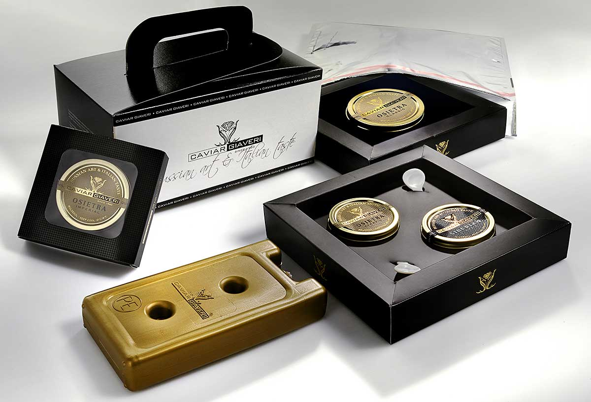 packaging caviale